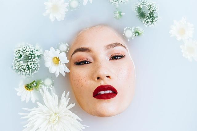 květinová lázeň